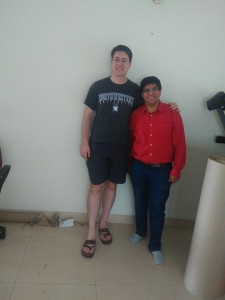 Our Team  with foreigner|Leo Packers India | Corporate Relocation